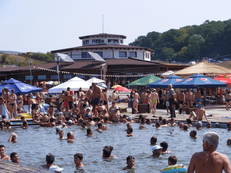 Swimming pool with salt water Baile Figa