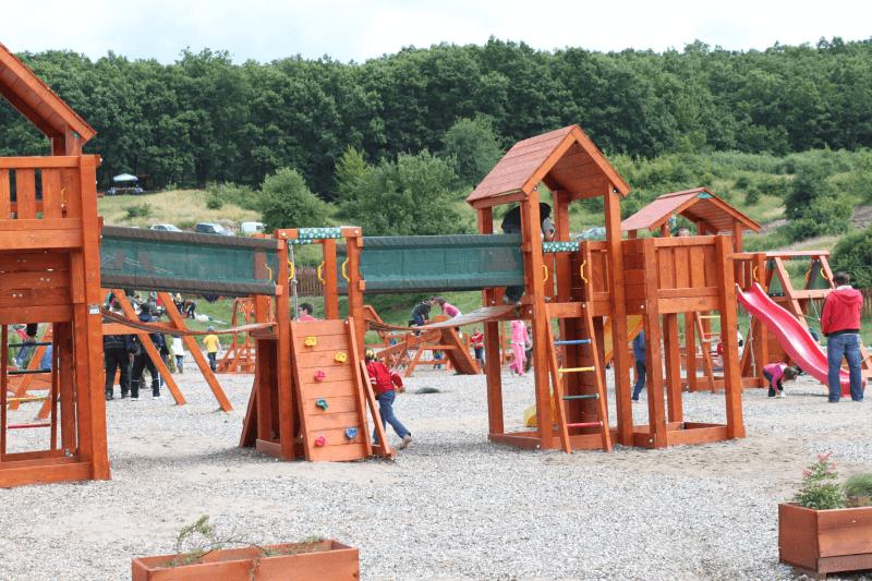 Playground for children at Baile Figa